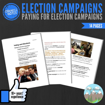 Cornell Notes (Voting and Elections) Paying for Election Campaigns