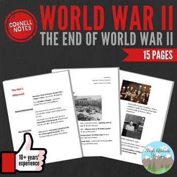 Cornell Notes: World War II (The End of World War 2) WW2