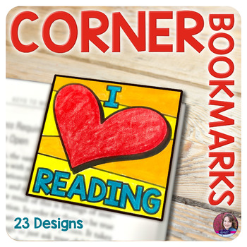 Corner Bookmarks for Elementary