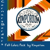 Corner Border Fall Pack