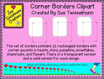 Corner Borders Clipart