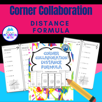 Distance Formula Corner Collaboration