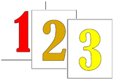 Corner/Lab Table Numbers