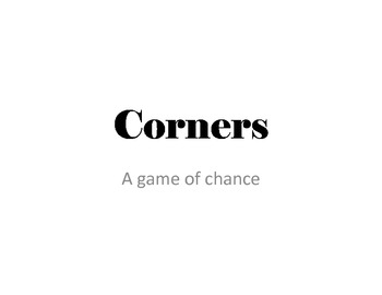 Corners - A game of chance