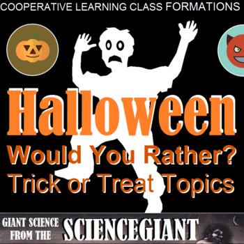 Class Formation Corners: Halloween