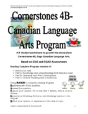 Cornerstones 4B Gage Language Program Reading Response Program