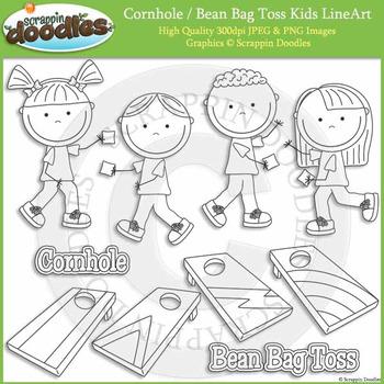Cornhole / Bean Bag Toss Kids