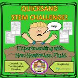 Quicksand Stem Challenge Worksheets