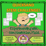 Quicksand Stem Challenge Worksheets