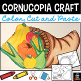 Cornucopia Craft - Thanksgiving Craft
