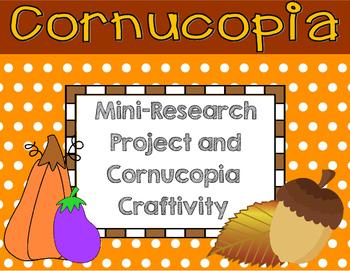 Cornucopia Craftivity