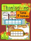 Thanksgiving Tens Frames & Math Activities - Cornucopia & the Mayflower