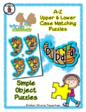 Cornucopia - Thanksgiving - Alphabet / Letter Puzzles - Si