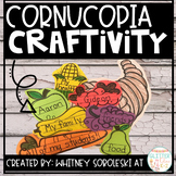 Cornucopia of Thanks Craftivity