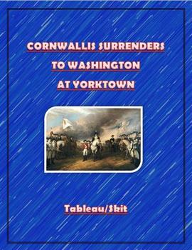 Cornwallis Surrenders to George Washington at Yorktown Skit/Tableau