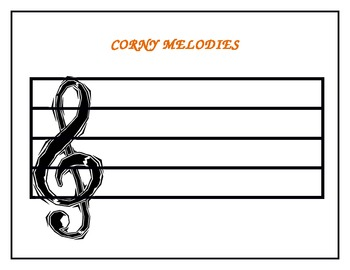 Corny Melodies - A Music Staff Activity
