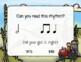 Corny Rhythms! Interactive Fall Rhythm Practice Game - Ta-a
