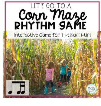 Corny Rhythms! Interactive Fall Rhythm Practice Game - Ti-tika