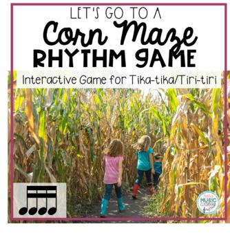 Corny Rhythms! Interactive Fall Rhythm Practice Game - Tika-tika
