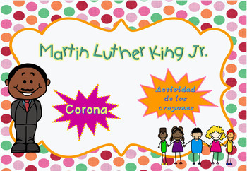Corona Martin Luther King Y Actividad Yo Soy Unico Mlk Day Crown In Spanish