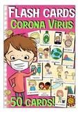 Corona virus / Covid-19 flash cards English / ESL vocabulary