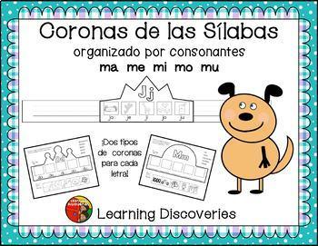 Coronas de las Sílabas - Spanish Syllable Crowns