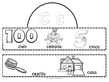 Coronas del Abecedario -Spanish