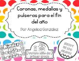 Coronas para el fin del año (End of the year crowns SPANISH)