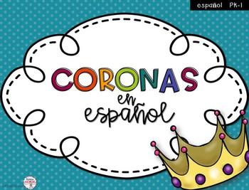 Coronas para la clase de español