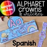 ABC   Beginning Sounds   Spanish Crowns   Bilingual Spanish   K