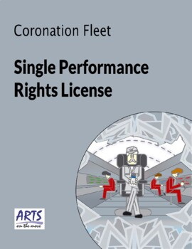 License for performing Coronation Fleet drama play script to an audience