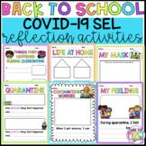 Coronavirus Back to School Reflection Activities: Covid-19 SEL