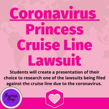 Coronavirus & Business Law - Cruise Line Lawsuit Exploration