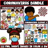 Coronavirus Clipart Bundle (COVID-19 Clipart Bundle)