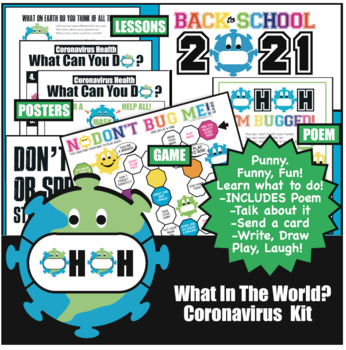 Covid Health Habits 13 Activities Game Posters Lessons Poem Bundle