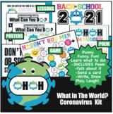 Covid Coronavirus Health Habits 13 Activities Game Posters