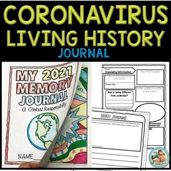 Coronavirus Journal Writing | Distance Learning