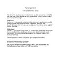 Coronavirus Reflection Paper