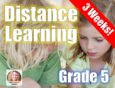 Distance Learning Packet Grade 5