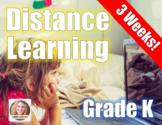 Distance Learning Packet Kindergarten