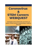 Coronavirus & STEM Careers Webquest (distance learning)
