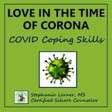 Coronavirus School Counseling Homebound Coping Skills List