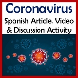 Coronavirus Spanish Video & Speaking Activity - Intermedia