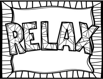 Anxiety Coloring Pages | azspringtrainingexperience | 270x350