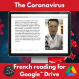 Coronavirus - reading in French - Google Drive version