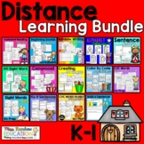 Distance Learning Bundle (Kinder-1) No Prep