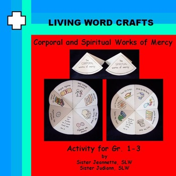 Corporal & Spiritual Works of Mercy Activity for Gr.1 to 3
