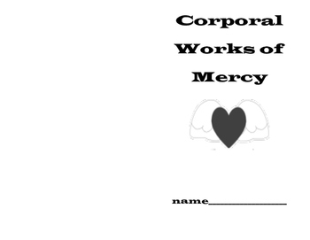 Corporal Works of Mercy Book