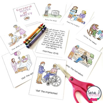 Corporal Works of Mercy Mini Book