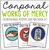 Corporal Works of Mercy Posters, Coloring Pages, and Mini